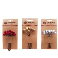 Chỗ bán Cành Berry trang trí giáng sinh 10cm 10 cái /bộ UBL XB1336