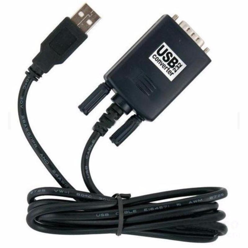 Bảng giá Cáp chuyển đổi USB to Com Rs232 chất lượng cao ( Đen )