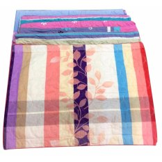 Cặp vỏ gối 50x70cm (sọc nhiều màu) 100% cotton