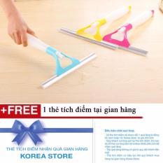 Cây lau kính 2 trong 1 tiện dụng + Tặng kèm 1 thẻ tích điểm tại KoreaStore