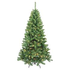 Cây thông Noel cao 1 mét loại dày lá + Tặng 01 dây đèn nhấp nháy dài 5 mét