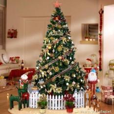 Cây thông Noel đầu tròn 1m8(Xanh lá thẫm)