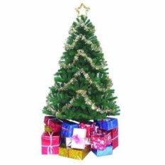 Cây Thông Noel đầu tròn 90 cm(Xanh lá thẫm)