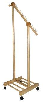 Cây treo đồ di động gỗ cao su Swood (Gỗ tự nhiên)