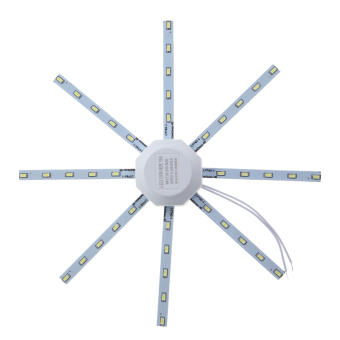 Celling Lamp 5730SMD White Round Kitchen Lamp Bedroom 20W - intl