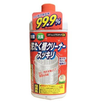 Chai nước tẩy vệ sinh lồng máy giặt Rocker - Sản xuất tại Nhật Bản 550g
