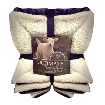 Chăn lông cừu Ultimate Sherpa Throw ( xám lông chuột)