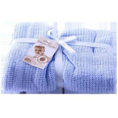 Chăn lưới chống ngạt Royal kid cho bé (xanh)