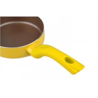 Chảo chống dính Elmich SmartCook 16cm SM7217 dùng bếp từ - Vàng