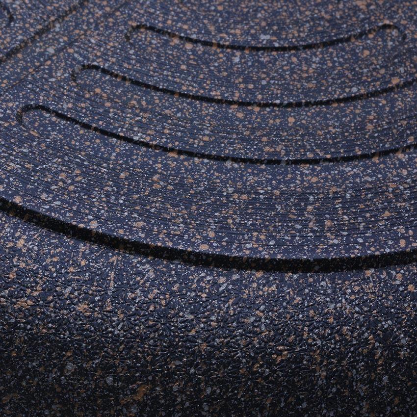 Chảo đá chống dính cạn Cook Way Hàn Quốc SSFM4-26 cm (Đen)