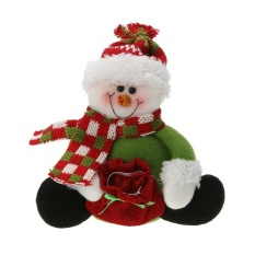 Giáng sinh Trang Trí Ông Già Noel Người Tuyết Cầm Ngọt Túi Quà Tặng Giáng Sinh Đồ Chơi (Nhiều Màu)-quốc tế