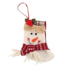Giáng sinh Đồ Trang Trí Cây Thông Noel Ông Già Noel Mặt Dây Chuyền Thả Giáng Sinh Trang Trí (Nhiều Màu)-B-quốc tế (Multicolor)