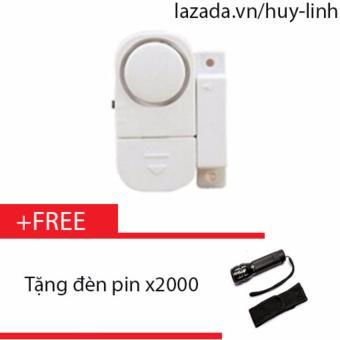 Chuông báo động chống trộm thông minh + Free đèn pin X2000 - 8199584 , HU612HLAA34OH4VNAMZ-5457540 , 224_HU612HLAA34OH4VNAMZ-5457540 , 89000 , Chuong-bao-dong-chong-trom-thong-minh-Free-den-pin-X2000-224_HU612HLAA34OH4VNAMZ-5457540 , lazada.vn , Chuông báo động chống trộm thông minh + Free đèn pin X2000