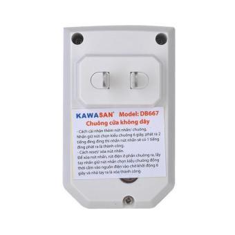 Chuông cửa không dây lắp ngoài trời chống nước Kawa DB667