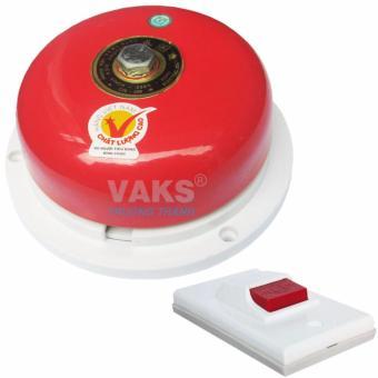 Chuông điện dạng đĩa 4 inch - 75dB + tặng kèm nút nhấn NC6-306