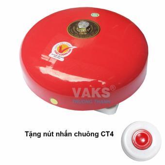Chuông điện dạng đĩa 6 in - 85dB + tặng kèm nút nhấn CT4-1608