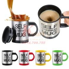 Cốc tự khuấy Self Stirring Mug thông minh không cần thìa