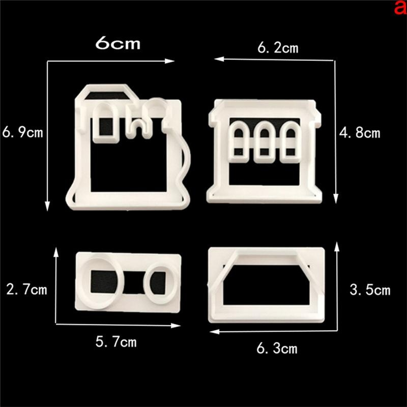 Cocotina Silicone 3D Train Fondant Cake Chocolate Mold MouldModelling Decorating - intl