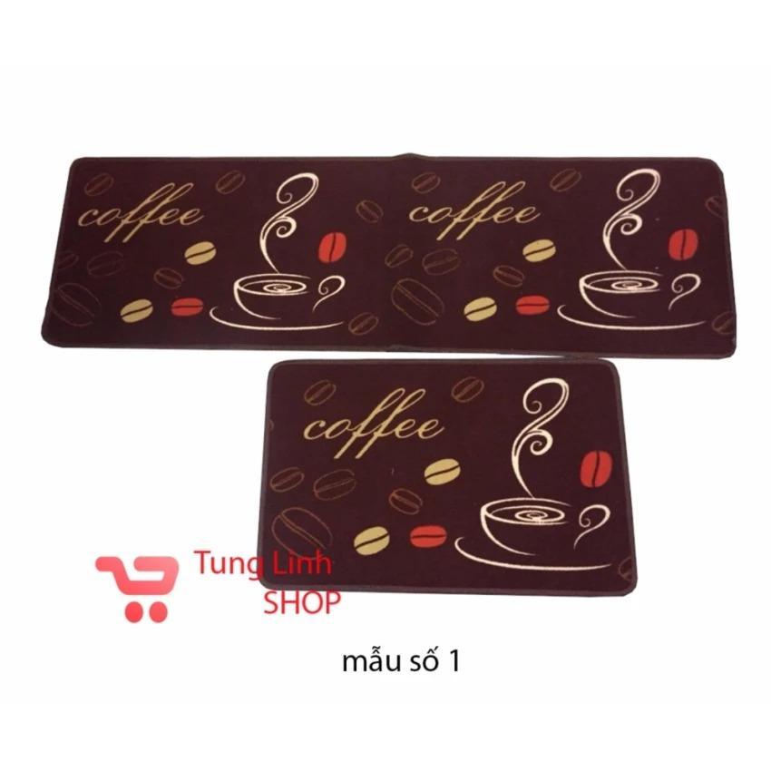 Combo 02 thảm trải sàn nhà bếp ( 120×40 cm và 60×40 cm)