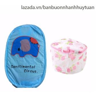 Combo 1 túi lưới bung đựng quần áo ( Xanh dương ) + 1 túi giặt đồ lót hình tròn - 8497875 , OE680HLAA30U92VNAMZ-5256712 , 224_OE680HLAA30U92VNAMZ-5256712 , 98000 , Combo-1-tui-luoi-bung-dung-quan-ao-Xanh-duong-1-tui-giat-do-lot-hinh-tron-224_OE680HLAA30U92VNAMZ-5256712 , lazada.vn , Combo 1 túi lưới bung đựng quần áo ( Xanh dương