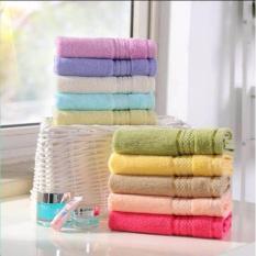 Combo 10 khăn lau mặt cotton CLC ( sản phẩm của làng dệt PHÙNG XÁ – HÀ NỘI)