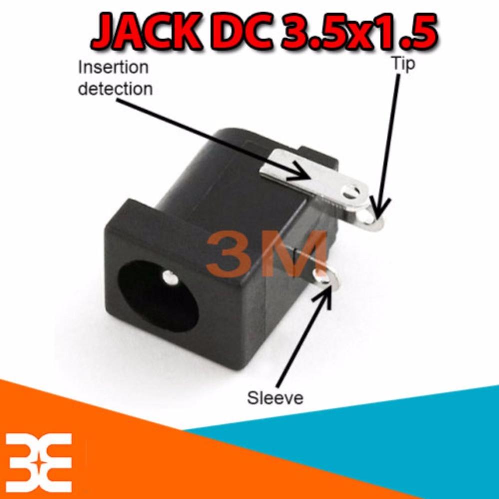 Combo 10 Jack DC Cái 3.5×1.5 chất lượng tốt