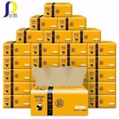 Combo 27 gói giấy ăn loại to làm từ bột trúc tự nhiên SIPIAO