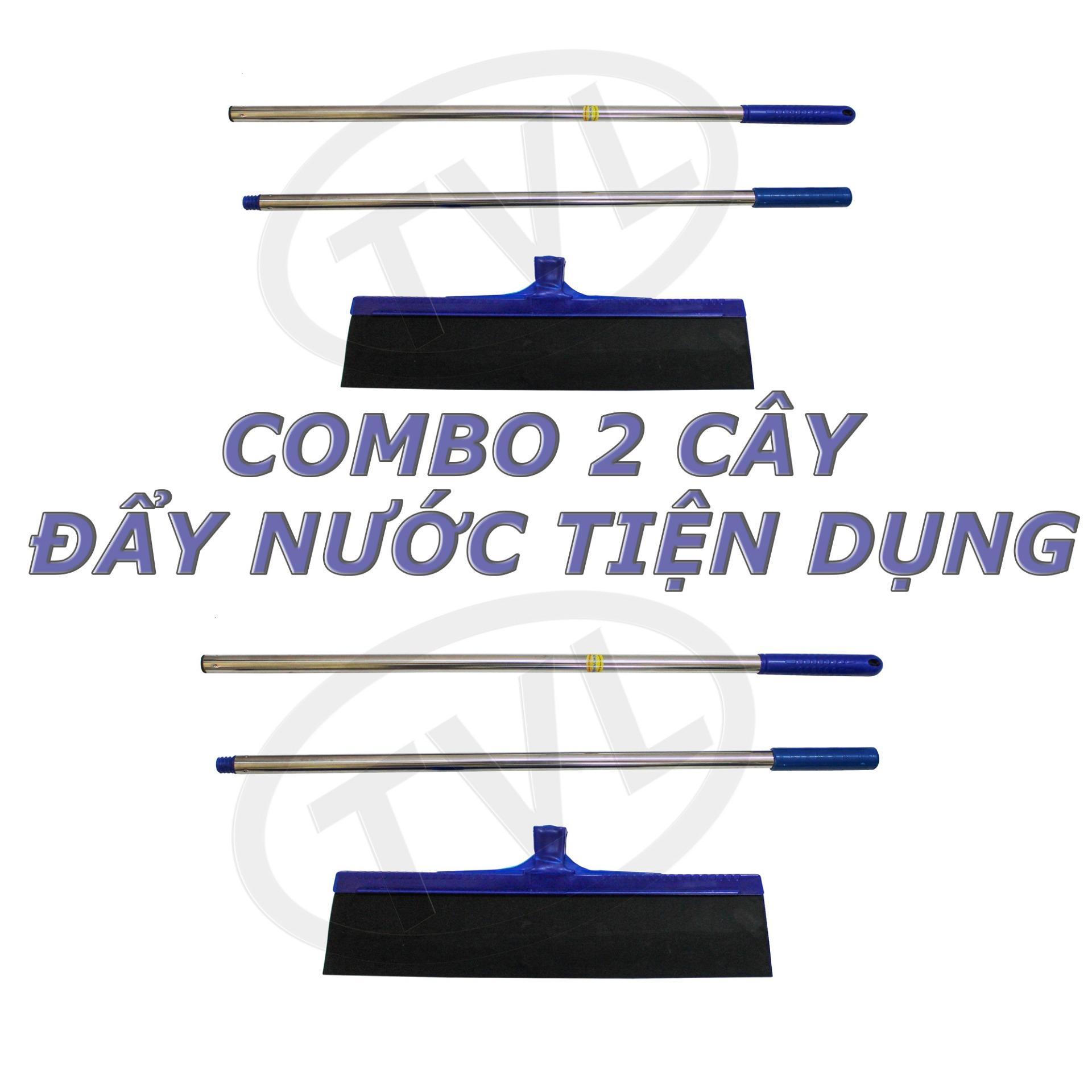 Bảng Giá COMBO 2 Cây đẩy nước ( gạt nước) sàn nhà ,kính tiện dụng-TVL-2D129