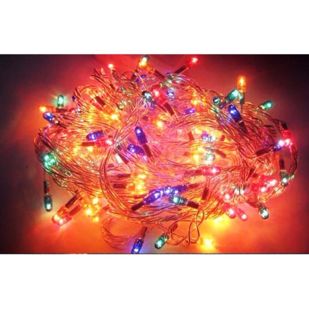 Combo 2 dây đèn Led chớp nháy Nhiều màu loại dài 5m trang trí Giáng sinh