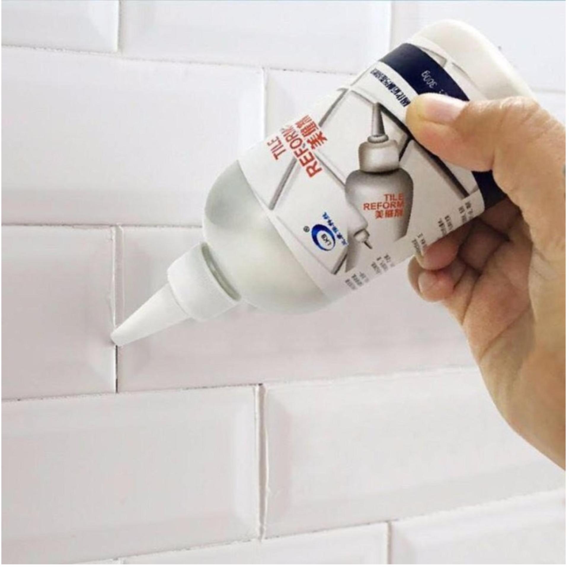 Chỗ bán COMBO 2 Hộp sơn chỉ gạch đá hoa,nền nhà bếp nhà tắm giúp làm sạch nền nhà