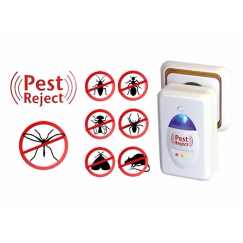 Combo 2 máy đuổi muỗi, côn trùng hiệu quả thông minh Pest Reject