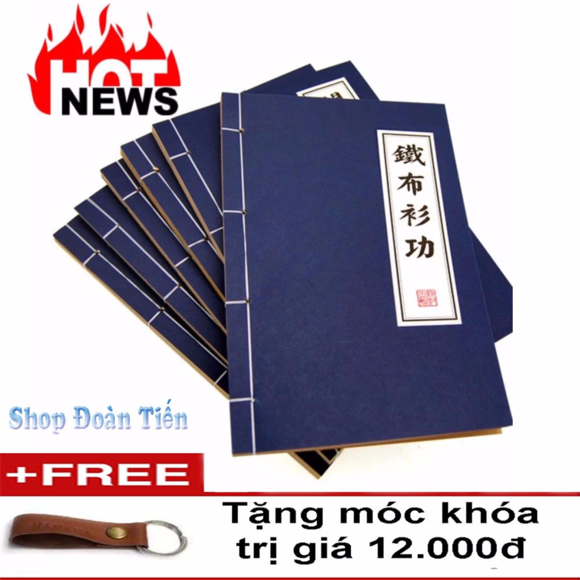 Báo Giá Combo 2 Quyển vở sổ tay cửu âm chân kinh ghi chú bí kíp võ công(tặng móc)