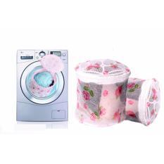 Combo 2 túi lưới giặt đồ lót – áo lót 2 lớp loại tốt