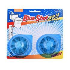 Combo 2 viên tẩy toilet Blue Shot Hàn Quốc 600 lần xả/viên