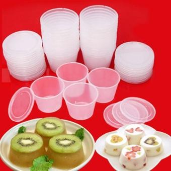 Combo 25 Khuôn Làm Bánh Flan Sữa Chua Rau Cau Dùng Được Lò Vi SóngHàng VNCLC