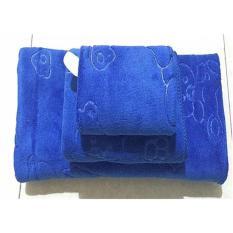 Combo 3 khăn Thái thấm hút,sợi bông mềm mại