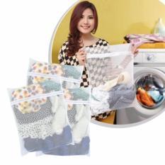 Combo 3 túi lưới giặt đồ loại đại sợi lưới chắc chắn siêu bền (50X60cm)