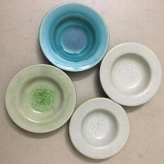 Combo 4 đĩa đựng nước chấm mầu sắc bất kỳ