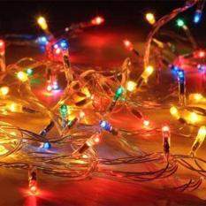 Báo Giá Combo 5 dây đèn Led 5m chớp nháy Nhiều Màu trang trí nhà cửa Giáng sinh