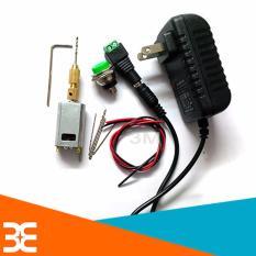 Combo máy khoan mini 180 5V Siêu Khỏe V2 ( 01 đ.cơ 180, 01 nguồn 5v-2a, 01 đầu kẹp 2015, 01 nối nguồn cái, 01 đề sắt to, 02 đoạn dây đỏ-đen, mũi khoan 0.8-1.0-1.2-1.5mm X2 chiếc )
