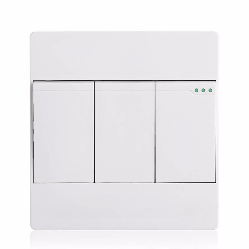 Bảng giá Công tắc ba 1 chiều mặt vuông cao cấp KLASS 86KB12-005 (màu trắng)