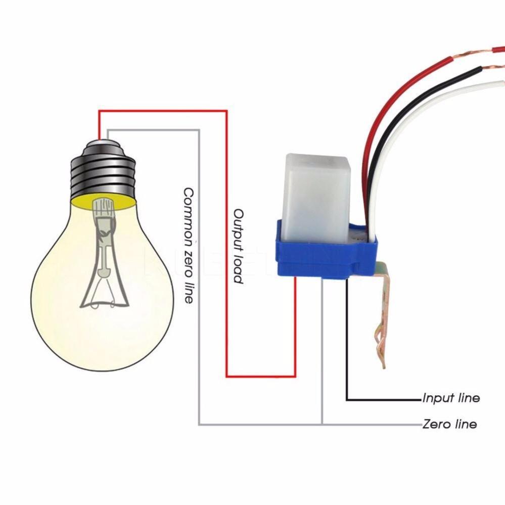 Nơi nào bán Công tắc cảm biến ánh sáng AS10 220v 10A