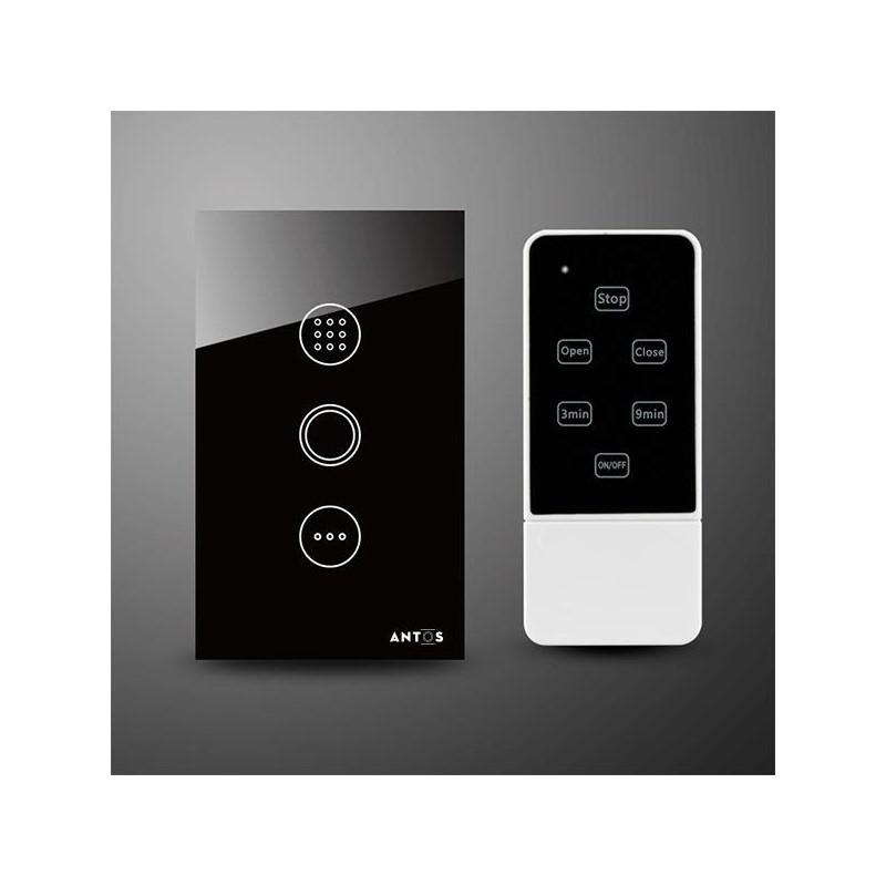 Công tắc cảm ứng hẹn giờ kèm điều khiển từ xa AT-TB1R