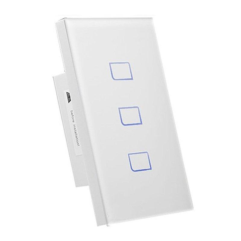 Bảng giá Mua Công tắc điện thông minh điều khiển từ xa qua internet Broadlink TC2-3