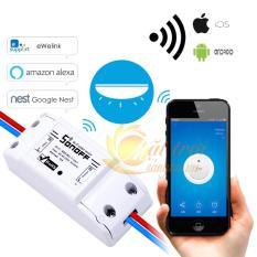 Công tắc điều khiển từ xa bật tắt hẹn giờ thiết bị qua wifi 3G Sonoff
