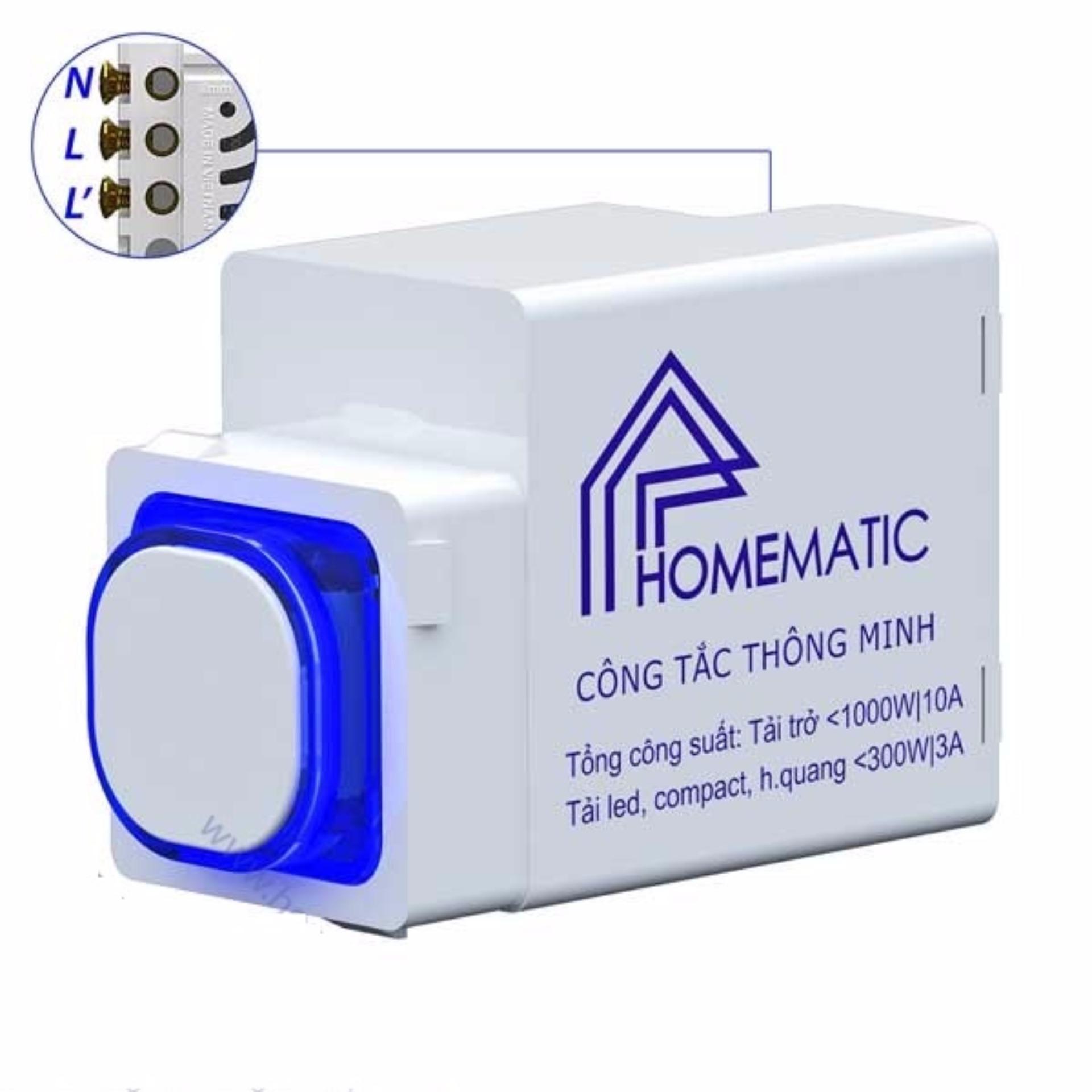 Công tắc điều khiển từ xa IR HOMEMATIC HMX-3C-TIRV1