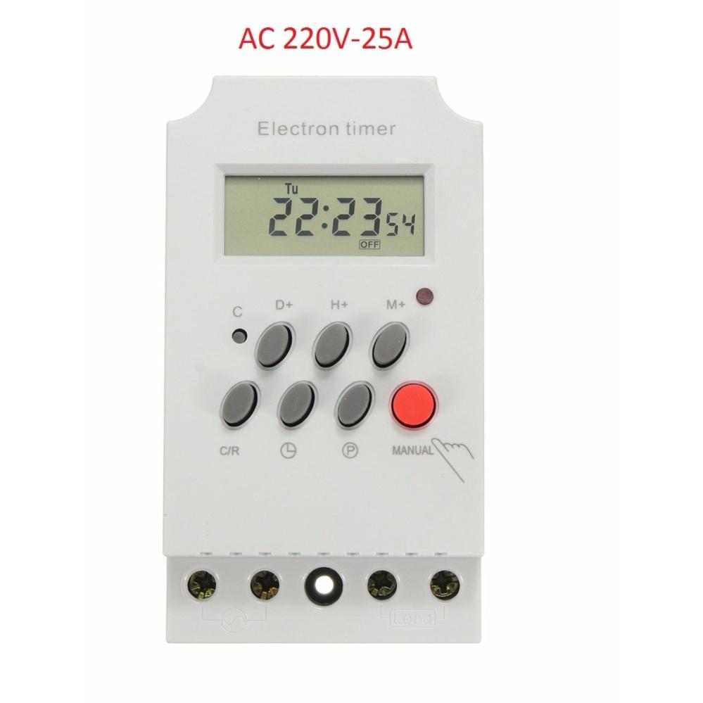 Công tắc hẹn giờ thông minh 17 chương trình Electron Timer KG316T II
