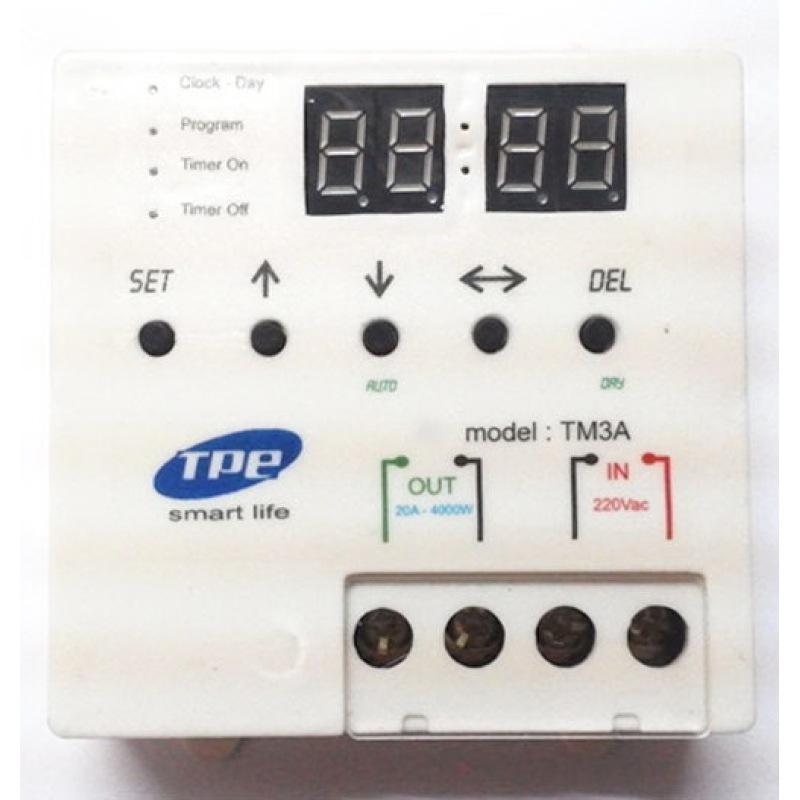 Bảng giá Mua Công tắc hẹn giờ TPE TM3A