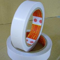 Cuộn băng keo 2 mặt 24mm dài 23mét (loại dày)