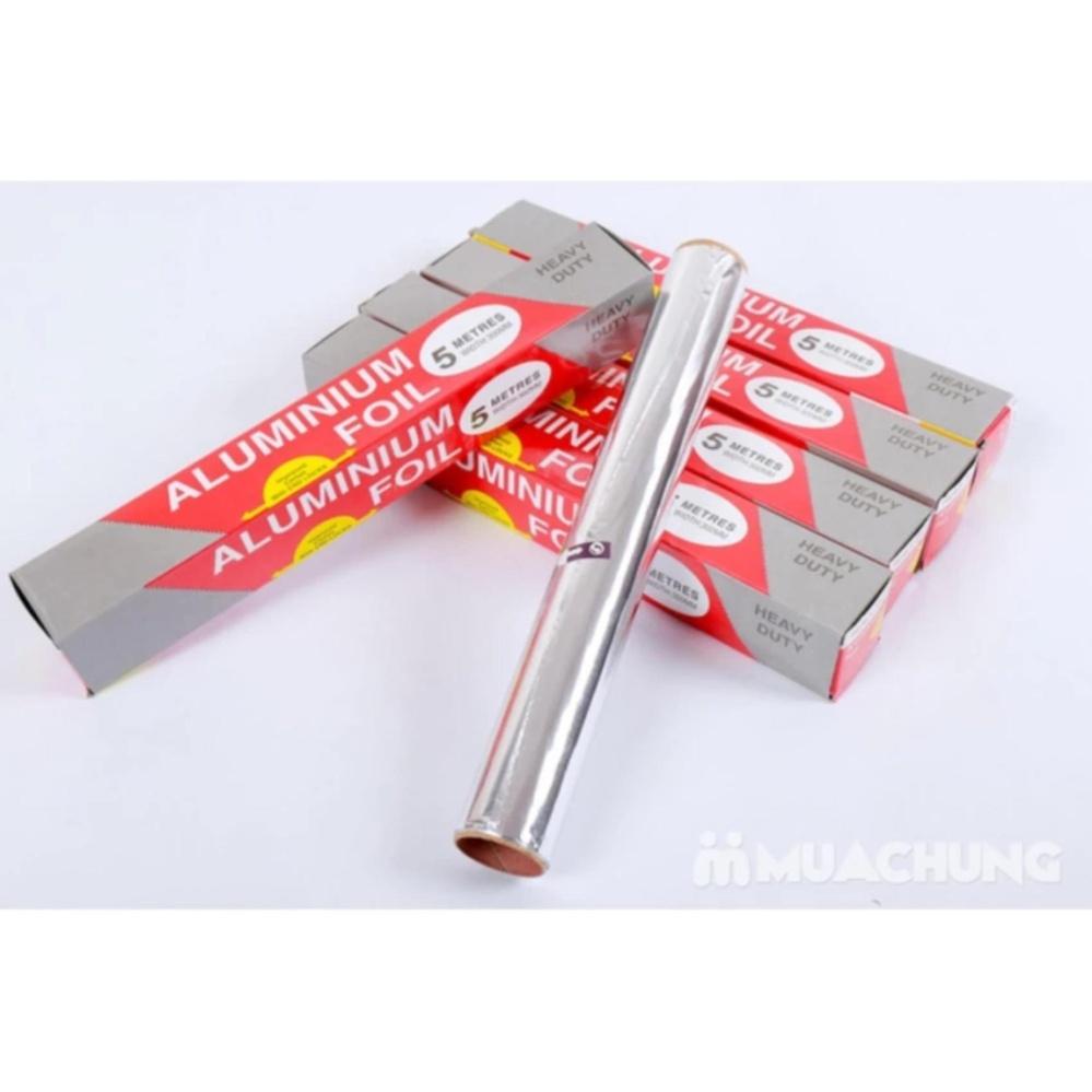Cuộn giấy bạc bọc thức ăn tiện dụng (5m)